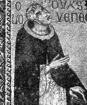 Orseolo as a monk