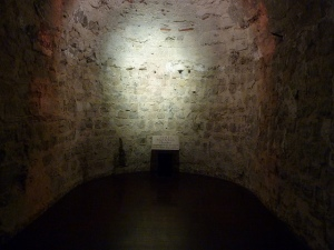 The cell in Colchester Castle where Parnell was held