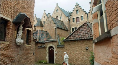 The last intact Beguinage, at Antwerp, Belgium