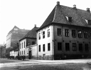 Hauge's cell was under this building in present-day Oslo