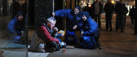 Love for souls on the street today (image: preston Street Pastors)