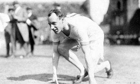 Liddell as Olympic athlete