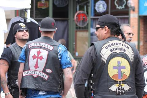 Christian bikers at a convention. Image: bikernet.com