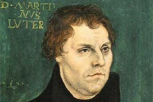 Portrait of Luther by Lucas Cranach the Elder