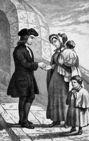 John WesleyGiving Money to Release a Prisoner